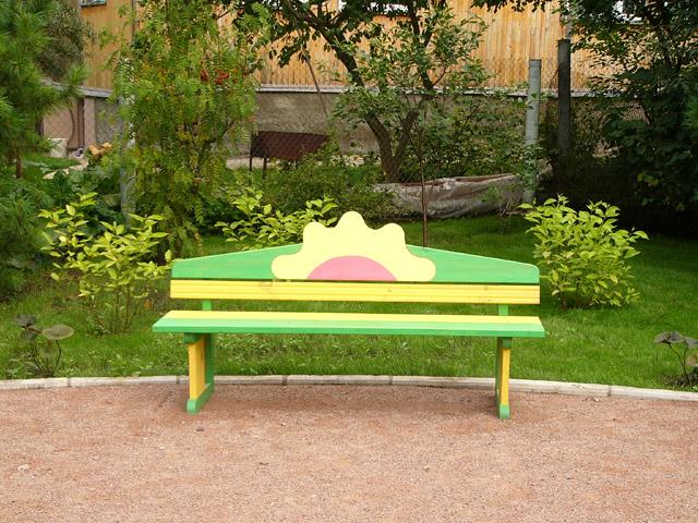 Скамейки для детской площадки своими руками 14