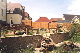 Дизайн огорода на склоне